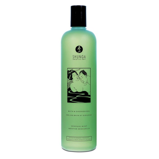 Гель для душа Shunga Shower Gel - Sensual Mint (500 мл)